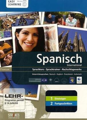 9783708705699: Spagnolo. Vol. 1-2. Corso interattivo per principianti-Corso interattivo intermedio. DVD-ROM (Easy learning)