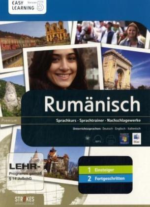 9783708706306: Rumeno. Vol. 1-2. Corso interattivo per principianti-Corso interattivo intermedio. DVD-ROM (Easy learning)