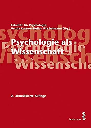 9783708901077: Psychologie als Wissenschaft