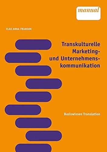 9783708903903: Transkulturelle Marketing Und Unternehmenskommunikation