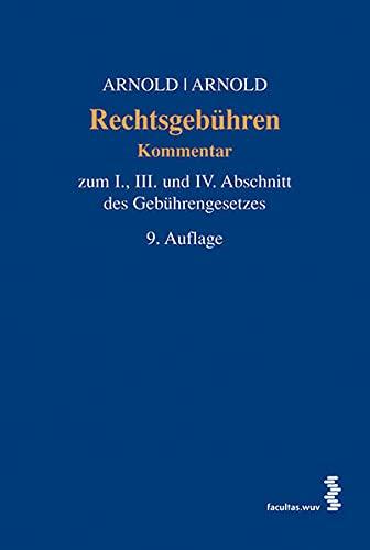 Rechtsgebühren: Nikolaus Arnold