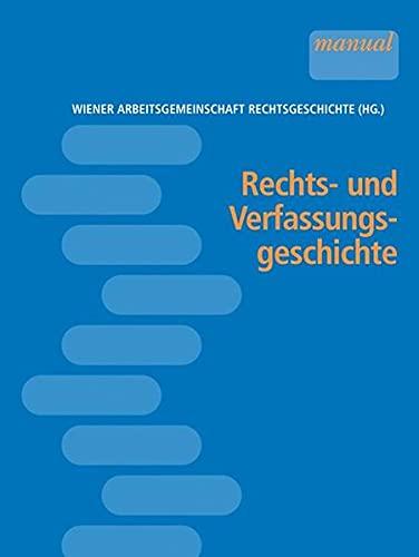 9783708908007: Rechts- und Verfassungsgeschichte