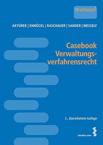 9783708909011: Casebook Verwaltungsverfahrensrecht