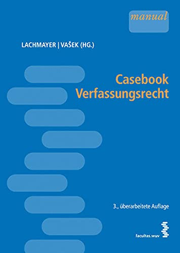 9783708909028: Casebook Verfassungsrecht