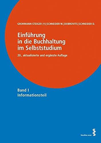 9783708910383: Einführung in die Buchhaltung im Selbststudium: Band I: Informationsteil, Band II: Übungsteil