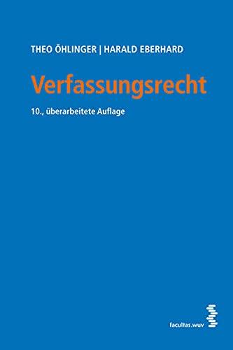 9783708911113: Verfassungsrecht