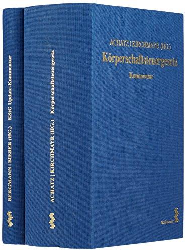Körperschaftsteuergesetz. 2 Bände: Markus Achatz