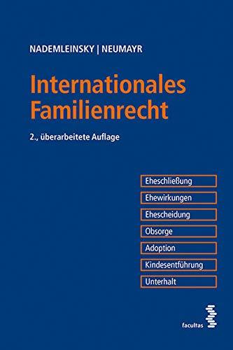 Internationales Familienrecht: Marco Nademleinsky, Matthias Neumayr