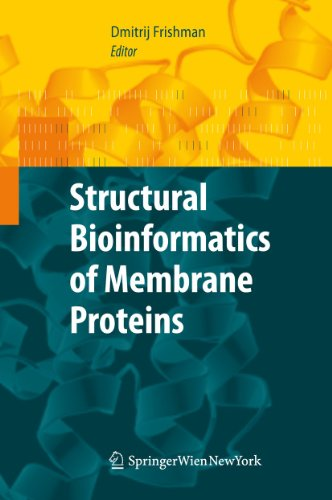9783709100448: Structural Bioinformatics of Membrane Proteins