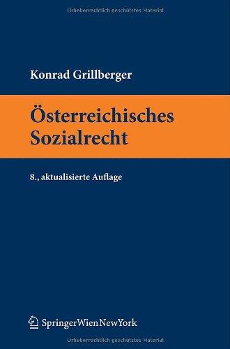 9783709100738: Österreichisches Sozialrecht (Springers Kurzlehrbucher Der Rechtswissenschaft)