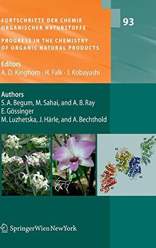 9783709101391: Fortschritte der Chemie organischer Naturstoffe / Progress in the Chemistry of Organic Natural Products, Vol. 93