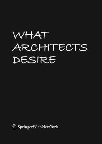 9783709103289: What Architects Desire