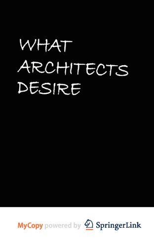 9783709103302: What Architects Desire