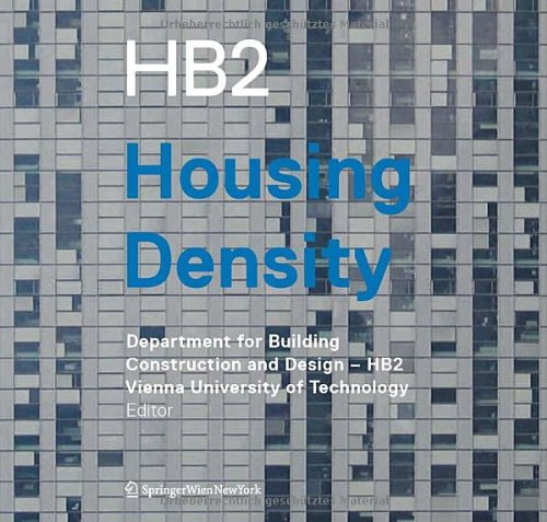Housing density.: Department for building construction and design HB2 (Hg.)