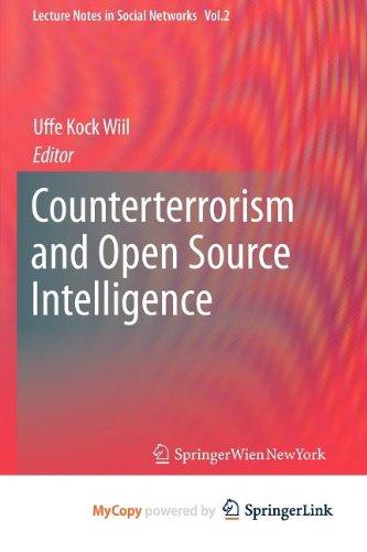 9783709103890: Counterterrorism and Open Source Intelligence