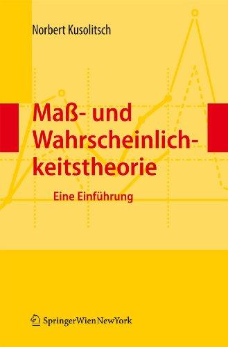 9783709106846: Maß-  und Wahrscheinlichkeitstheorie