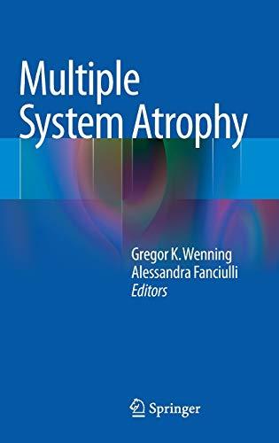9783709106860: Multiple System Atrophy