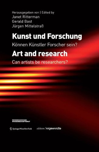 9783709107522: Art and Research: Can Artists be Researchers? (Edition Angewandte) (German and English Edition)