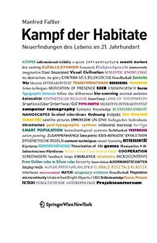 9783709108000: Kampf der Habitate: Neuerfindungen des Lebens im 21. Jahrhundert (Edition Transfer)