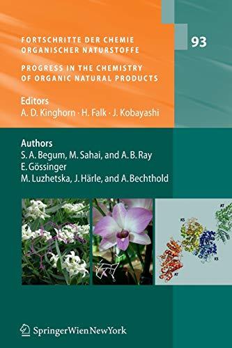 9783709111079: Fortschritte der Chemie organischer Naturstoffe / Progress in the Chemistry of Organic Natural Products, Vol. 93 (Volume 93)