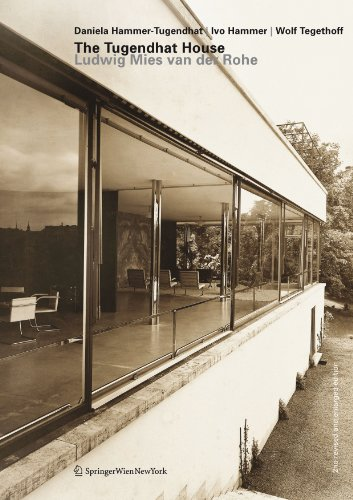 9783709112946: The Tugendhat House. Ludwig Mies van der Rohe