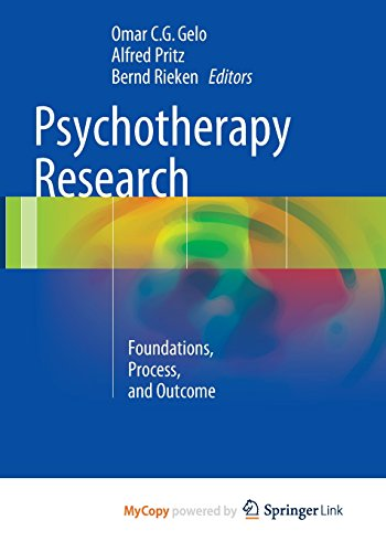 9783709113837: Psychotherapy Research: Foundations, Process, and Outcome