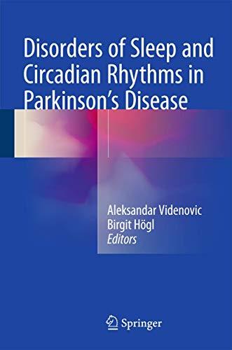 9783709116302: Disorders of Sleep and Circadian Rhythms in Parkinson's Disease