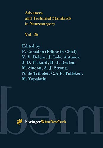 9783709132258: Advances and Technical Standards in Neurosurgery