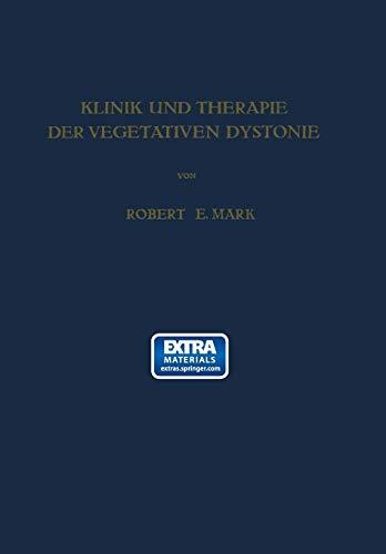 9783709150696: Klinik und Therapie der Vegetativen Dystonie