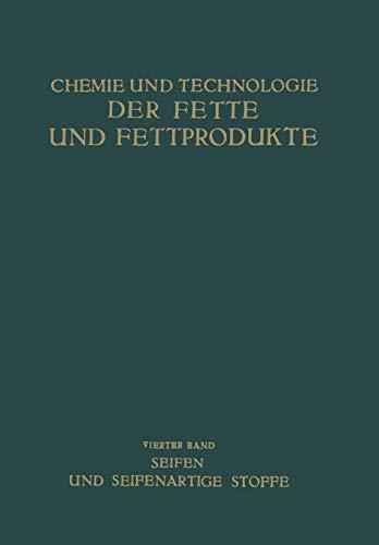 9783709152706: Seifen und Seifenartige Stoffe (German Edition)