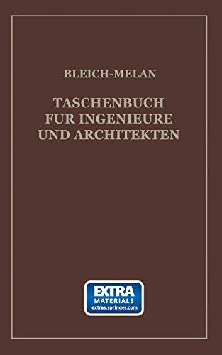 9783709152720: Taschenbuch für Ingenieure und Architekten