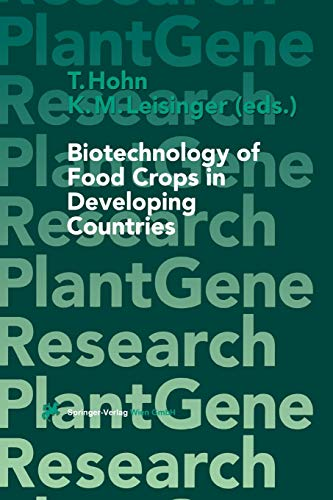 9783709173169: Biotechnology of Food Crops in Developing Countries (Plant Gene Research)
