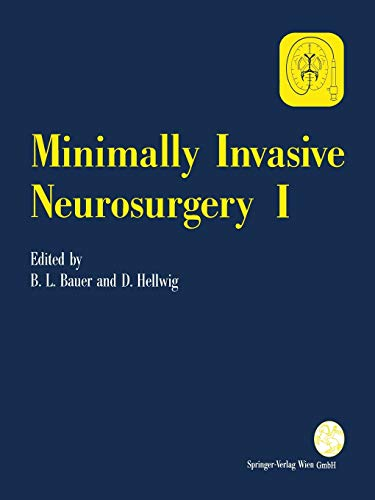9783709173817: Minimally Invasive Neurosurgery I