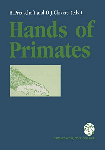 9783709174340: Hands of Primates