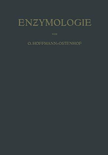 9783709178348: Enzymologie: Eine Darstellung für Chemiker, Biologen und Medi?iner (German Edition)