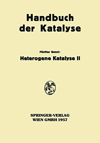 9783709180419: Heterogene Katalyse II