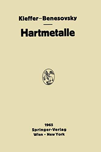 9783709181287: Hartmetalle (German Edition)