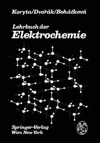 9783709184196: Lehrbuch der Elektrochemie (German Edition)
