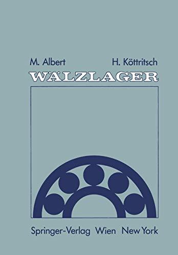 9783709189146: Wälzlager: Theorie und Praxis (German Edition)