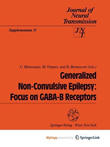 9783709192078: Generalized Non-Convulsive Epilepsy: Focus on GABA-B Receptors