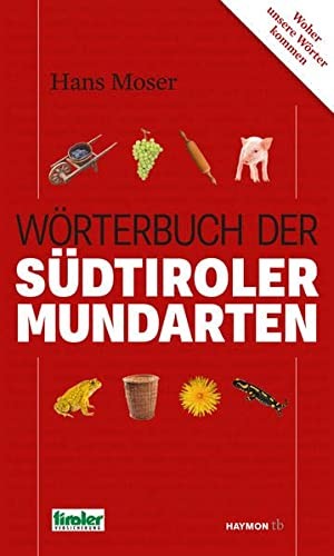 9783709978382: Wörterbuch der Südtiroler Mundarten