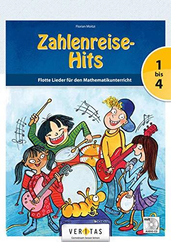 9783710104657: Zahlenreise 1.-4. Schuljahr. Zahlenreise-Hits: Flotte Lieder für den Mathematikunterricht. Notenheft und Songs mit Audio-CDs. Inkl. didaktische Tipps
