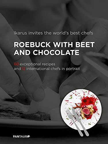 9783710500046: Ikarus invites the world`s best chefs: Roebuck with Beet and Chocolate