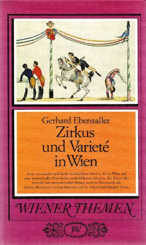 9783714160871: Zirkus und Varieté in Wien (Wiener Themen) (German Edition)
