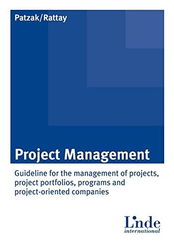 Project Management: Gerold Patzak