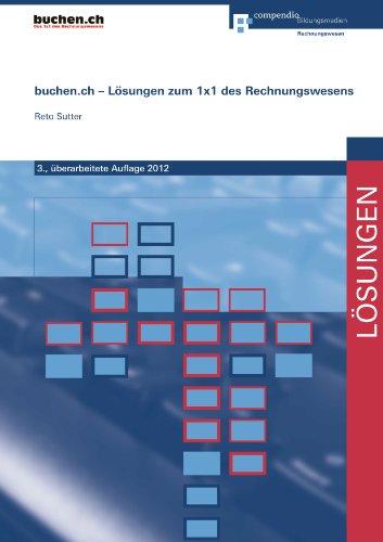9783715595818: buchen.ch - Lösungen zum 1x1 des Rechnungswesens by Suter, Reto