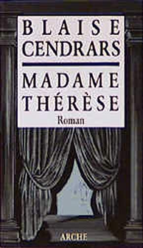 9783716020838: Madame Therese.