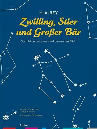 9783716026014: Zwilling, Stier und Großer Bär: Sternbilder erkennen auf den ersten Blick