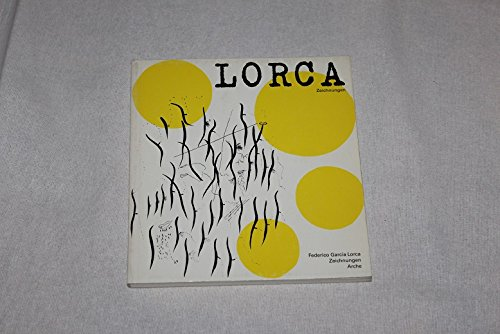 9783716035023: Federico Garc�a Lorca. Zeichnungen