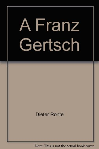 9783716505373: Franz Gertsch. Dt./Engl